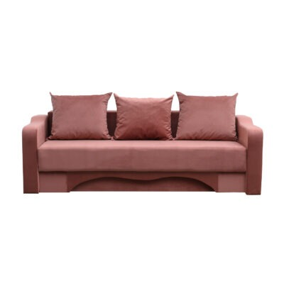 canapea amias dusty pink