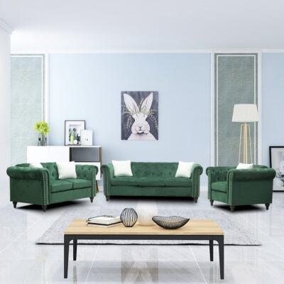 canapea ava green